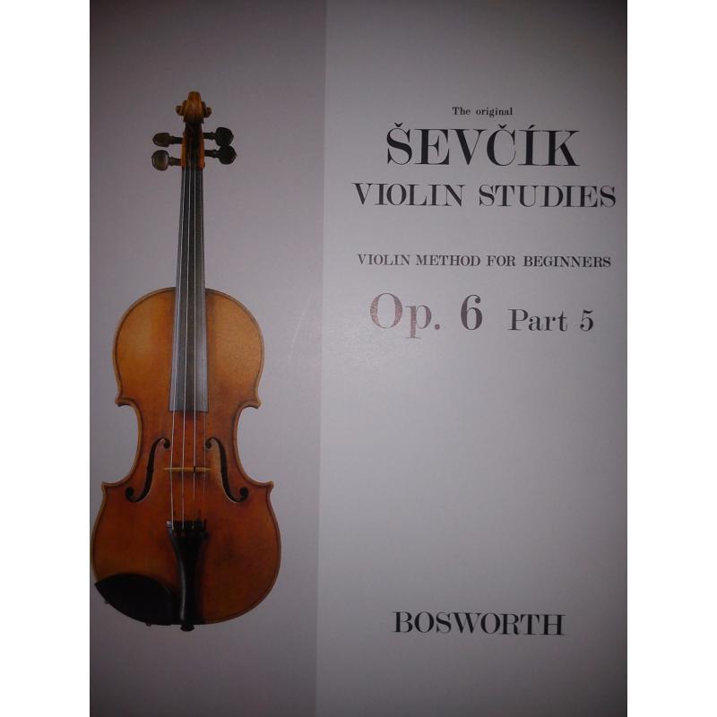 Sevcik - violin studies op 6 part 5