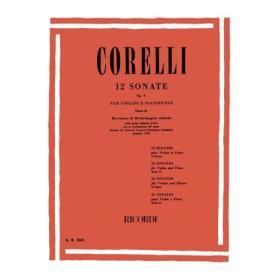 Corelli 12 sonate op 5 parte 2