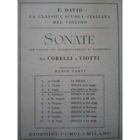 David - Sonate per violino con accompagnamento di pianoforte