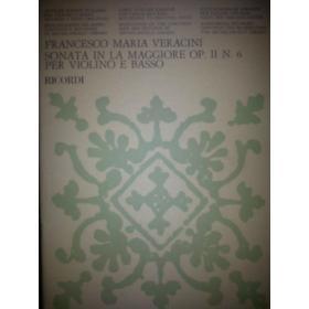 Veracini - Sonata in la maggiore op 2 n.6 per violino e basso