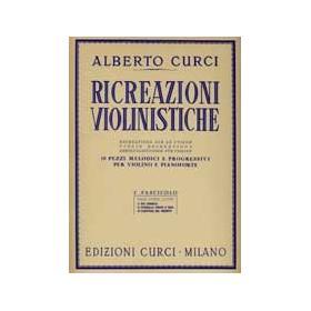 Curci - ricrezione violinistiche 1 fascicolo