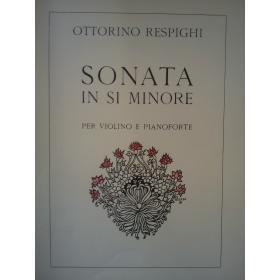 Respighi - sonata in si minore per violino e pianoforte