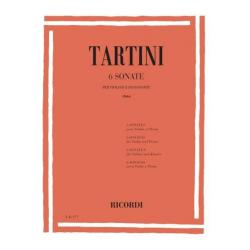 Tartini - 6 sonate per violino e pianoforte