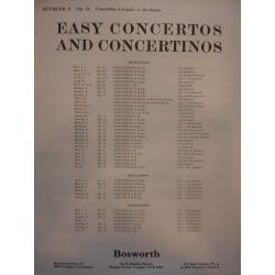 Kuchler - easy concertos and concertinos op12