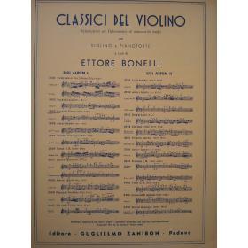 Bonelli - Classici del violino
