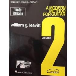 Leavitt - A modern method for guitar volume 2