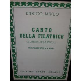 Enrico Mineo – Canto della filatrice