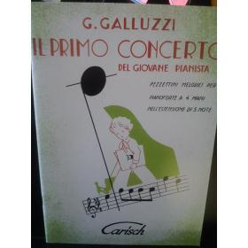 G.Galluzzi – il primo concerto del giovane pianista