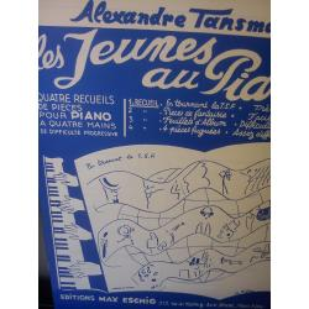 Alexandre Tansmann – Les jeurnes all piano