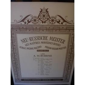 A.Scriabin – neu russische meister op 2 no.1 etude