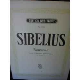 Sibellius – Romanze op 24 nr 9