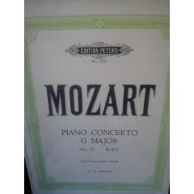 Mozart – Piano concerto in g major