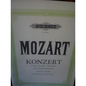 Mozart – Konzert in d major