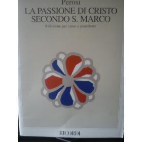Perosi – La passione di cristo secondo s.Marco