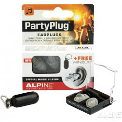 SET EARPLUG ALPINE PARTYPLUG MKII TRANPARENT EDITION
