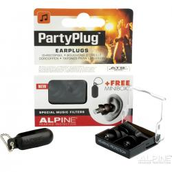 SET EARPLUG ALPINE PARTYPLUG MKII BLACK EDITION