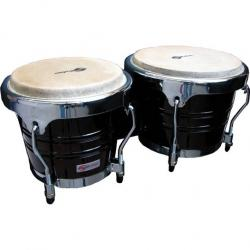 "BONGOS SOUNDSATION SB02-DW 7""+8"" DARK WOOD HW-CH"