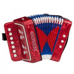 MINI FISARMONICA SOUNDSATION ST-214R ROSSA