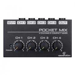 MINI MIXER SOUNDSATION POCKET-MIX