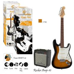 GUITAR PACK ELETTRICO SOUNDSATION ROCKER PACK 3TS