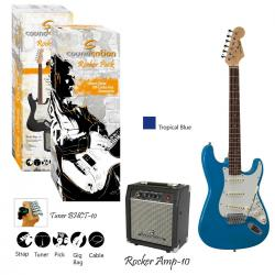 GUITAR PACK ELETTRICO SOUNDSATION ROCKER PACK TB