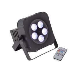PAR LED A BATTERIA SOUNDSATION PAR-18W-5-B RGBWA+UV (CARTONE)