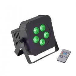 PAR LED A BATTERIA SOUNDSATION PAR-10W-5-B RGBW (CARTONE)