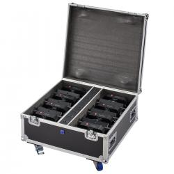 FLIGHT CASE PER 8 PAR BATTERIA SOUNDSATION FC-8-PAR-BAT
