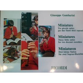 Giuseppe Gambarini – miniature