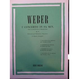Weber – concertino op 26