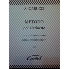 A.Gabucci – Metodo per clarinetto