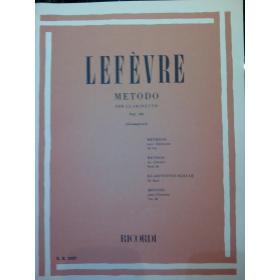 Lefèvre – Metodo per clarinetto vol 3