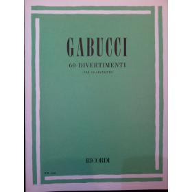 Gabucci – 60 divertimenti per clarinetto