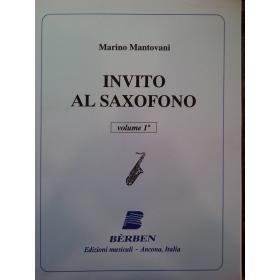 Marino Mantovani – invito al saxofono volume 1