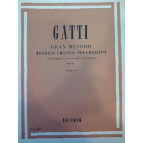 Gatti – Gran metodo teorico pratico progressivo parte 3