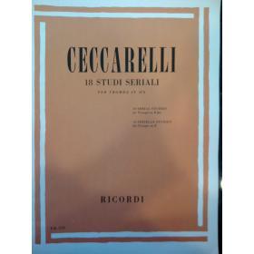 Ceccarelli – 18 studi seriali per tromba in si bem