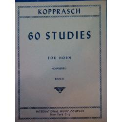 Kopprasch – 60 studies for horn book 2
