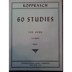 Kopprasch – 60 studies for horn book 1