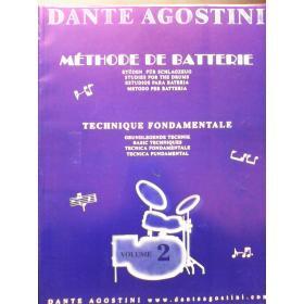 Dante Agostini – methode de batterie vol 2