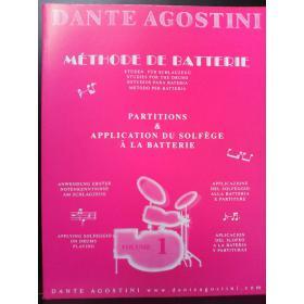 Dante Agostini – methode de batterie vol 1