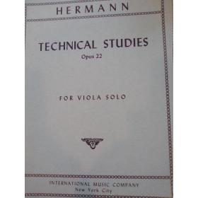 Hermann – technical studies opus 22