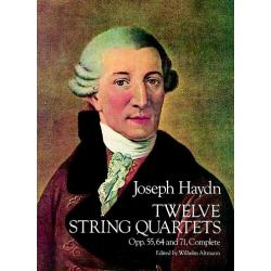 Haydn - Twelve string quartets