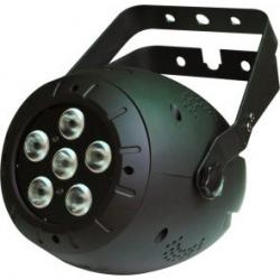 PROIETTORE LED SOUNDSATION PAR64-10W-6-4in1