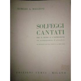 Maggioni - Solfeggi cantati