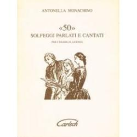 Mnachino - 50 solfeggi parlati e cantati