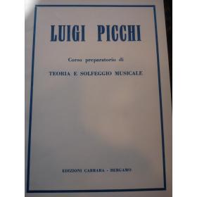 Picchi - corso preparatorio di teoria e solfeggio musicale
