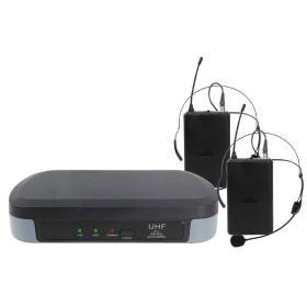 SET 7302LAV - Doppio Radiomicrofono ad archetto UHF