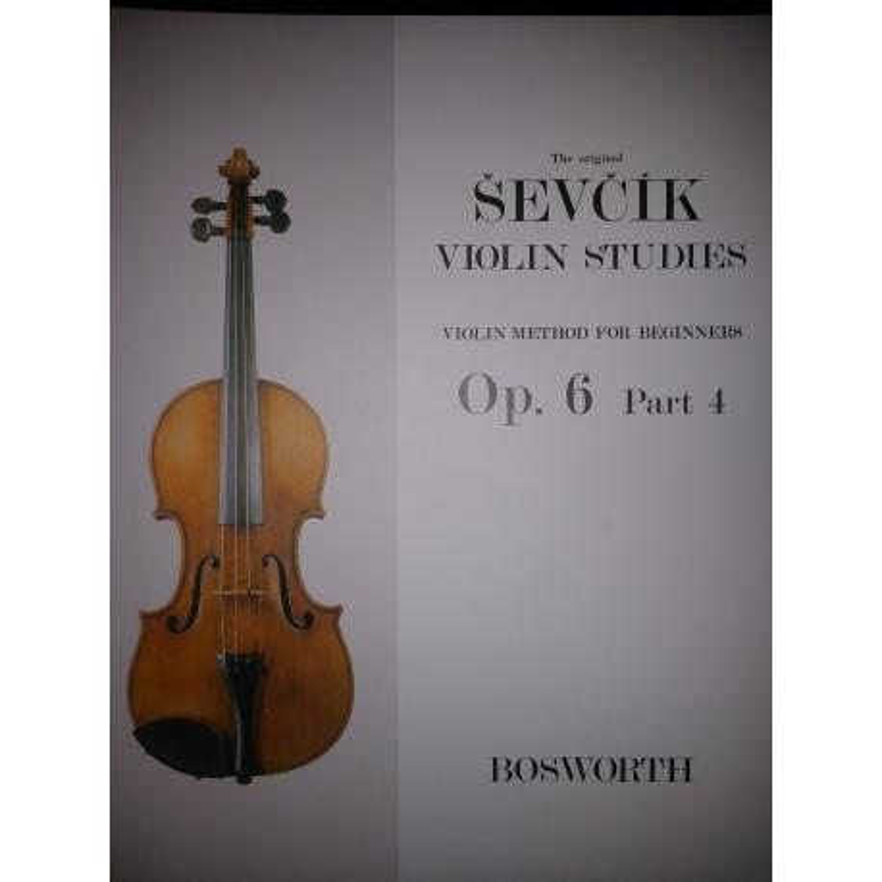 Sevcik - violin studies op 6 part 4