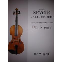 Sevcik - violin studies op 6 part 5
