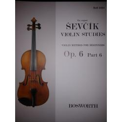 Sevcik - violin studies op 6 part 6